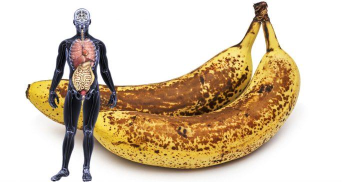 si comes dos bananas al dia banner