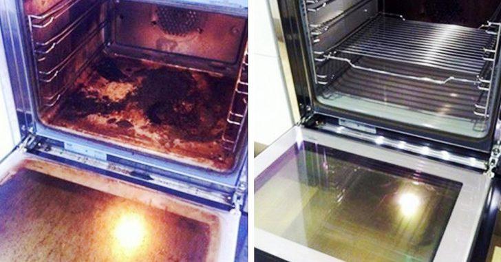 6 Pasos para limpiar el horno y dejarlo como los chorros del oro con el método 'BBS'