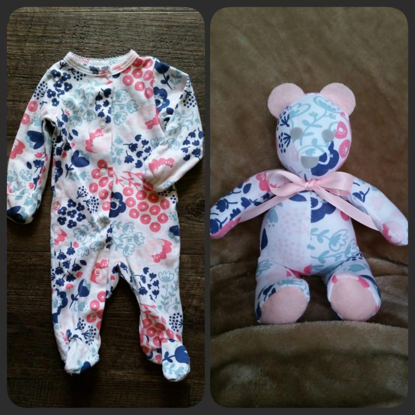 A su bebe se le quedo pequeno el Pijama 03