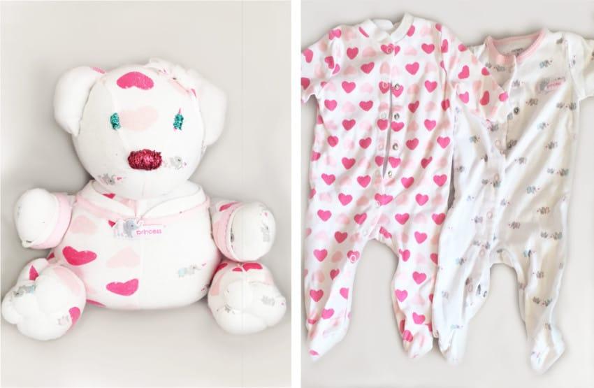 A su bebe se le quedo pequeno el Pijama 06