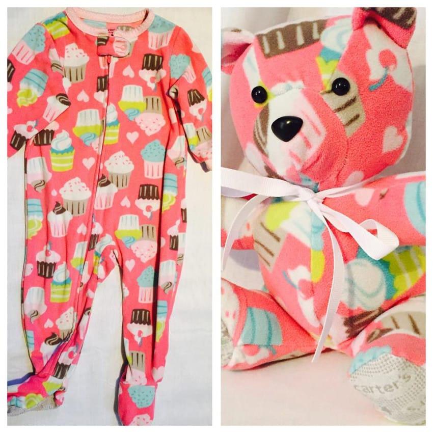 A su bebe se le quedo pequeno el Pijama 09