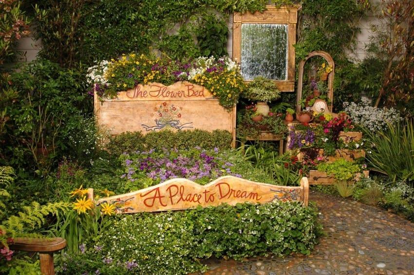 Ideas para reutilizar tus viejos muebles en el Jardín
