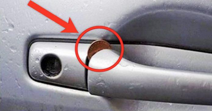 ladrones moneda puerta coche vehiculo banner