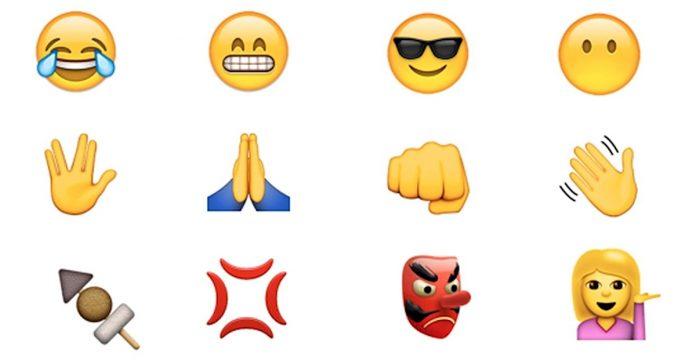 que significan emoticonos emojis banner