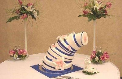 20 Tartas de boda que harían llorar a cualquier novia