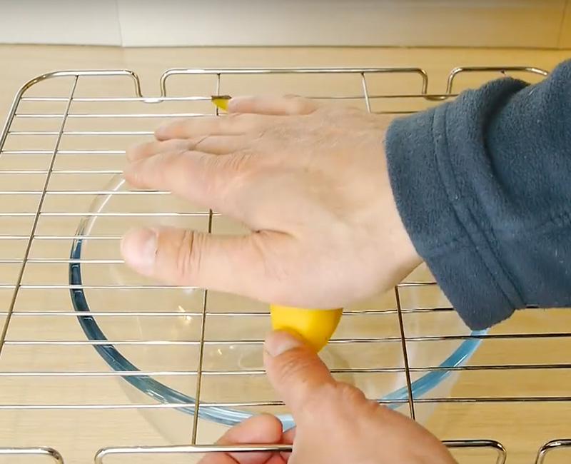 Corta la fruta rápidamente con este Fantástico truco
