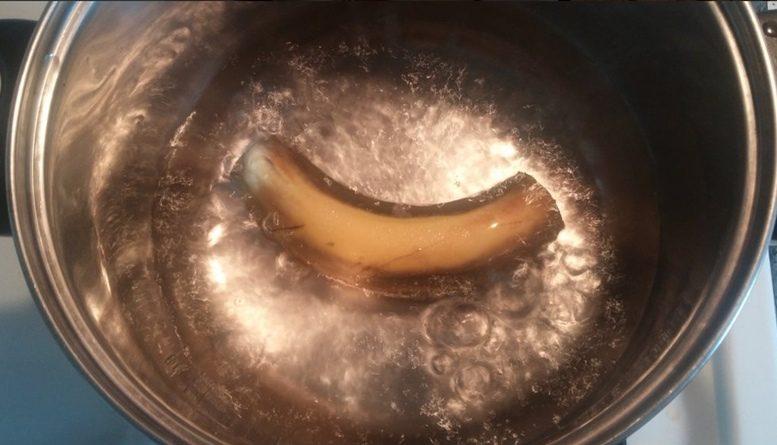 Cómo preparar el famoso té de Plátano. El elixir perfecto para dormir