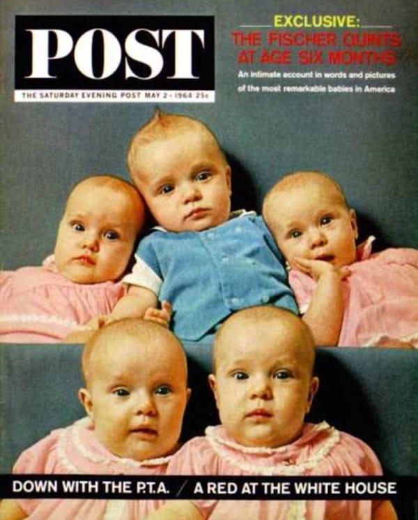 Una mujer desconcierta a los médicos después de quedarse embarazada 5 veces en 1963
