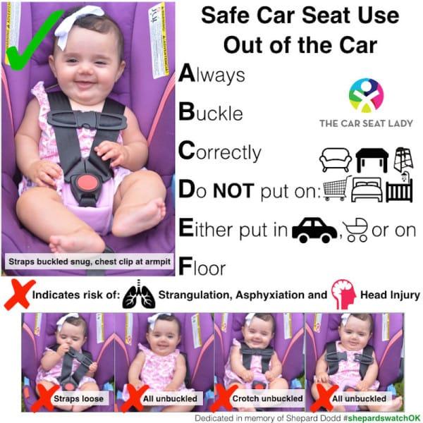 Esta madre coloco mal a su bebe en el asiento del coche y pago el precio... Te ensenamos a hacerlo de forma correcta 01