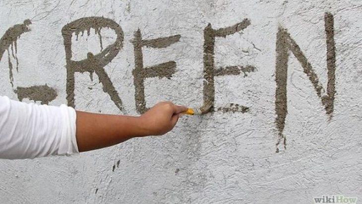 Cómo crear increíbles graffitis vivos y ecológicos con musgo