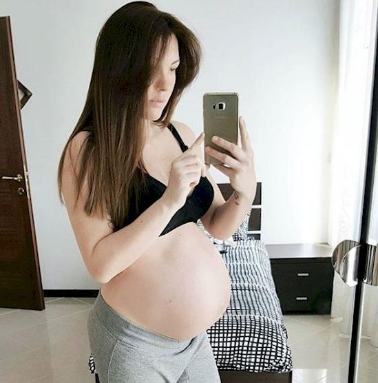 vía Instagram / @pregnant.beauty
