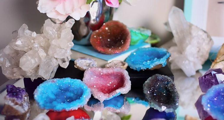 Cómo crear unas Increíbles Geodas en tu casa con este sencillo tutorial