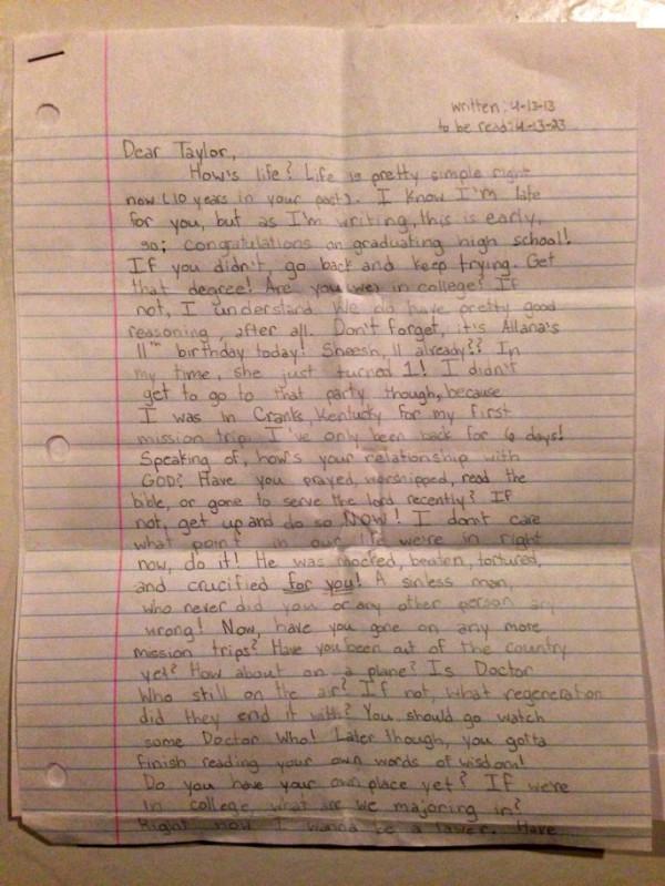 Una niña de 12 años muere repentinamente y encuentran una nota entre sus cosas