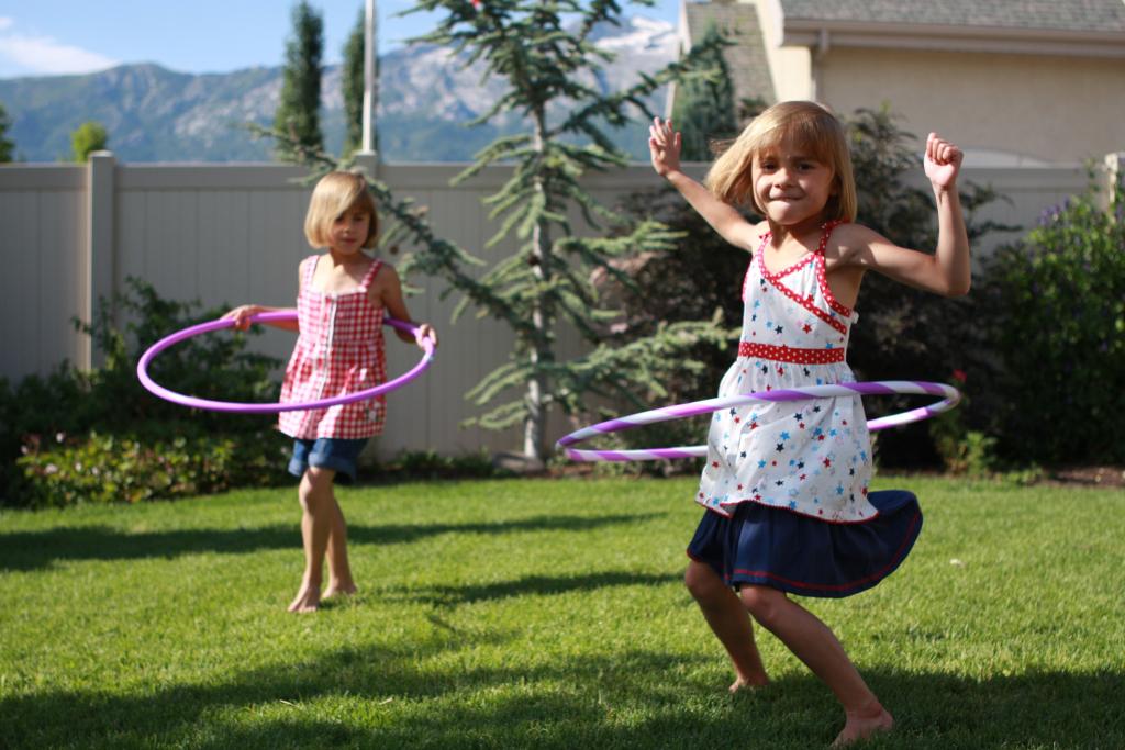 Te cansaste de bailar el Hula Hoop 01