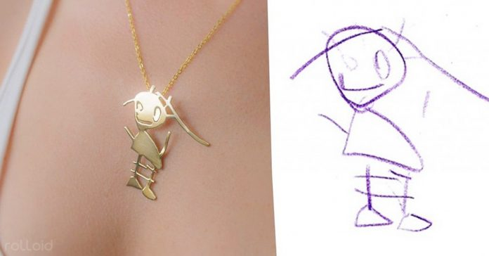 artista transforma dibujos ninos en joyas banner