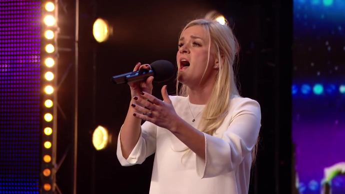 El jurado se quedó prendado de esta increíble mujer en Britain's got Talent