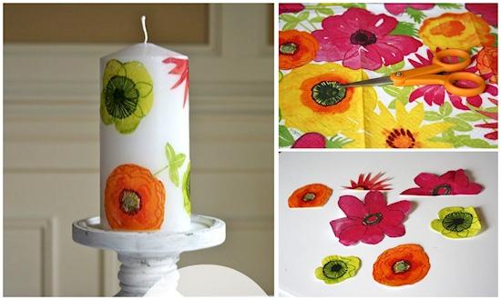 12 ideas creativas para utilizar tus servilletas de papel en el hogar 05