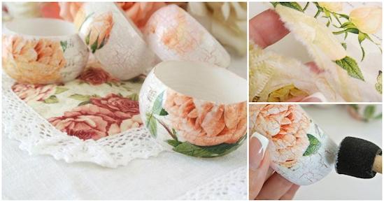 12 ideas creativas para utilizar tus servilletas de papel en el hogar 07
