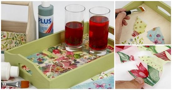 12 ideas creativas para utilizar tus servilletas de papel en el hogar 08