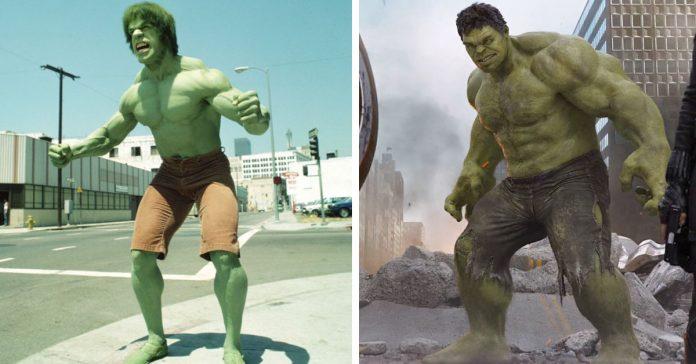 15 Sorprendentes superheroes antes y ahora banner