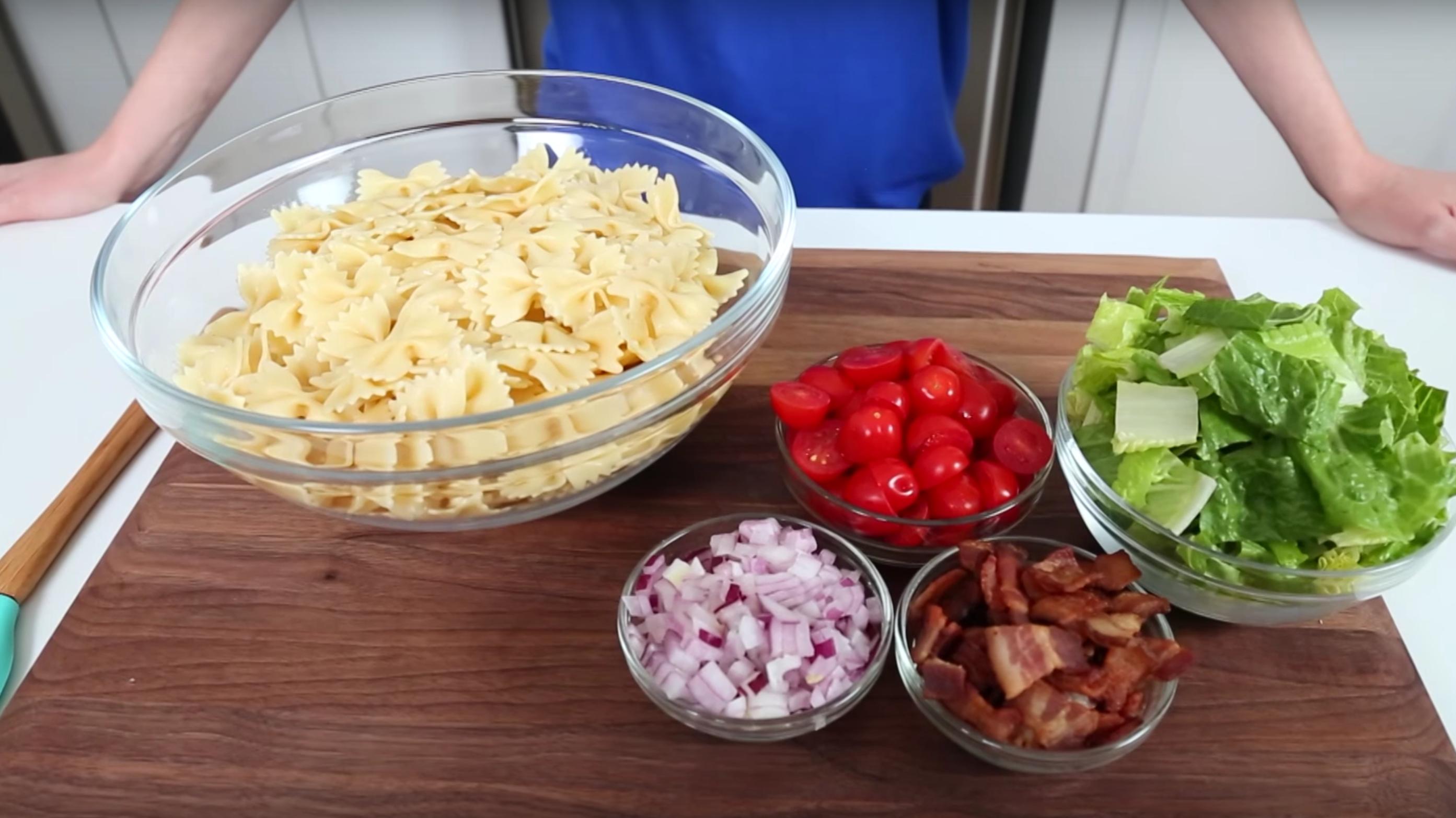 3 Ensaladas de pasta que podrás preparar para llevar y son perfectas para el verano