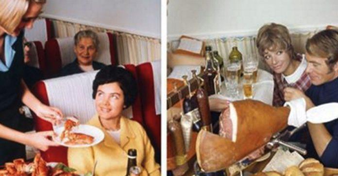 Asi era la comida en los aviones hace 50 anos banner