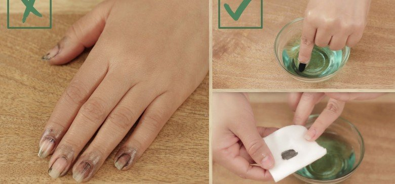 Cómo quitar fácilmente la pintura de tus uñas con quitaesmalte