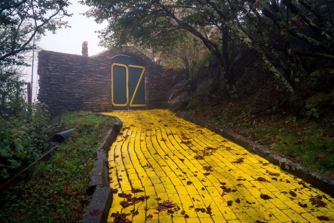 Descubrieron un extrano lugar del Mago de Oz 06