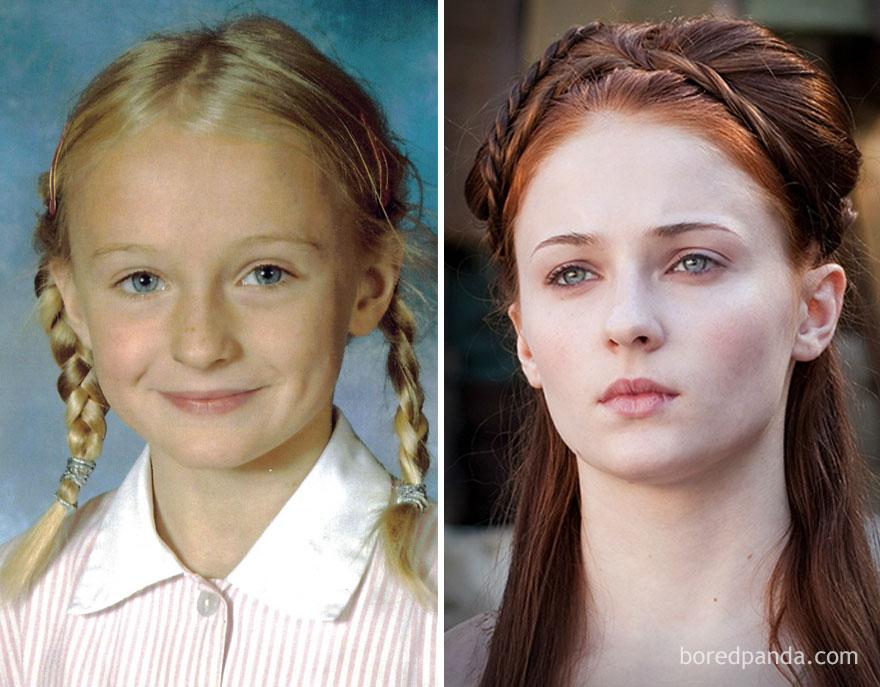 El increible antes y despues de los actores de Juego de Tronos 13