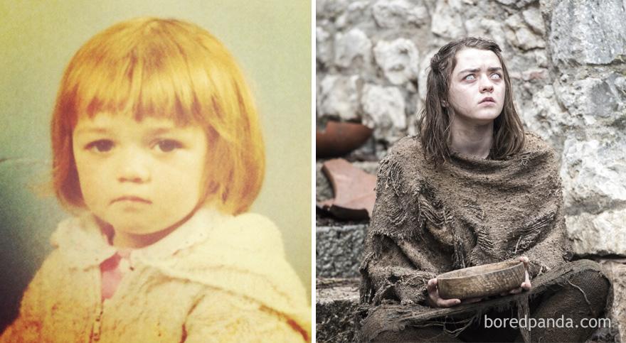 El increible antes y despues de los actores de Juego de Tronos 16