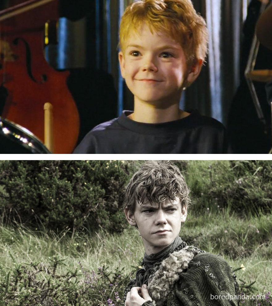 El increible antes y despues de los actores de Juego de Tronos 19