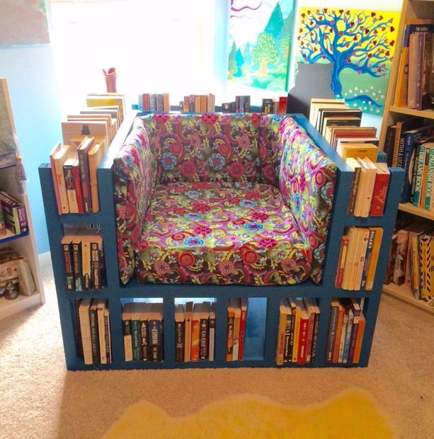 Estas 12 increíbles estanterías te harán querer convertirte en un fanático de los libros inmediatamente