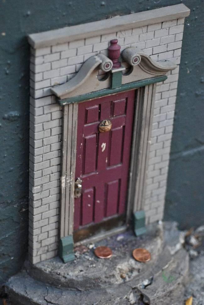 Estas diminutas Puertas de Hadas transforman cualquier lugar en un mundo mágico