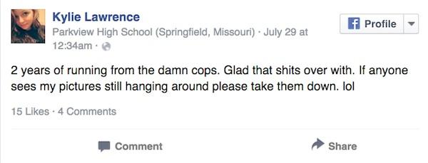 Esta chica estuvo desaparecida durante dos años. Pero entonces vieron una actualización en su perfil de Facebook