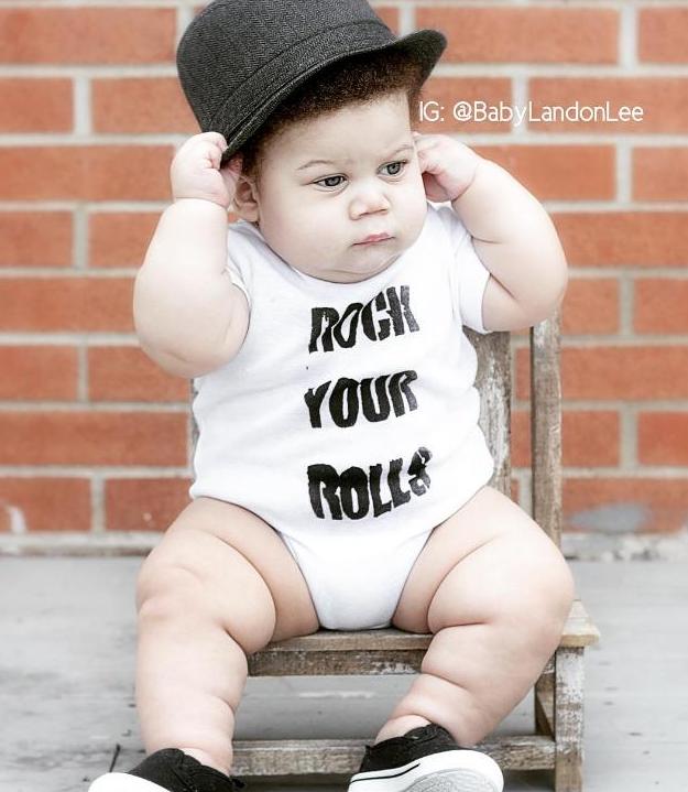 Internet estaba enamorado de este bebé. Pero un comentario lo cambió todo...