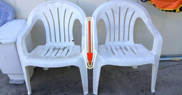 Las sillas de plastico estaban hechas un desastre banner