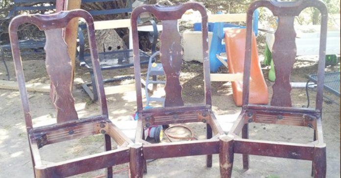 Llego a casa con unas sillas viejas y las transformo completamente Ahora es la envidia de todos sus vecinos banner