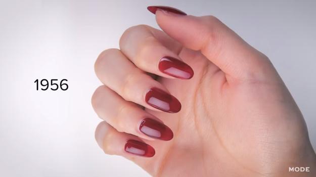 No te pierdas estos 100 increíbles años de estilos de uñas en sólo 2 minutos