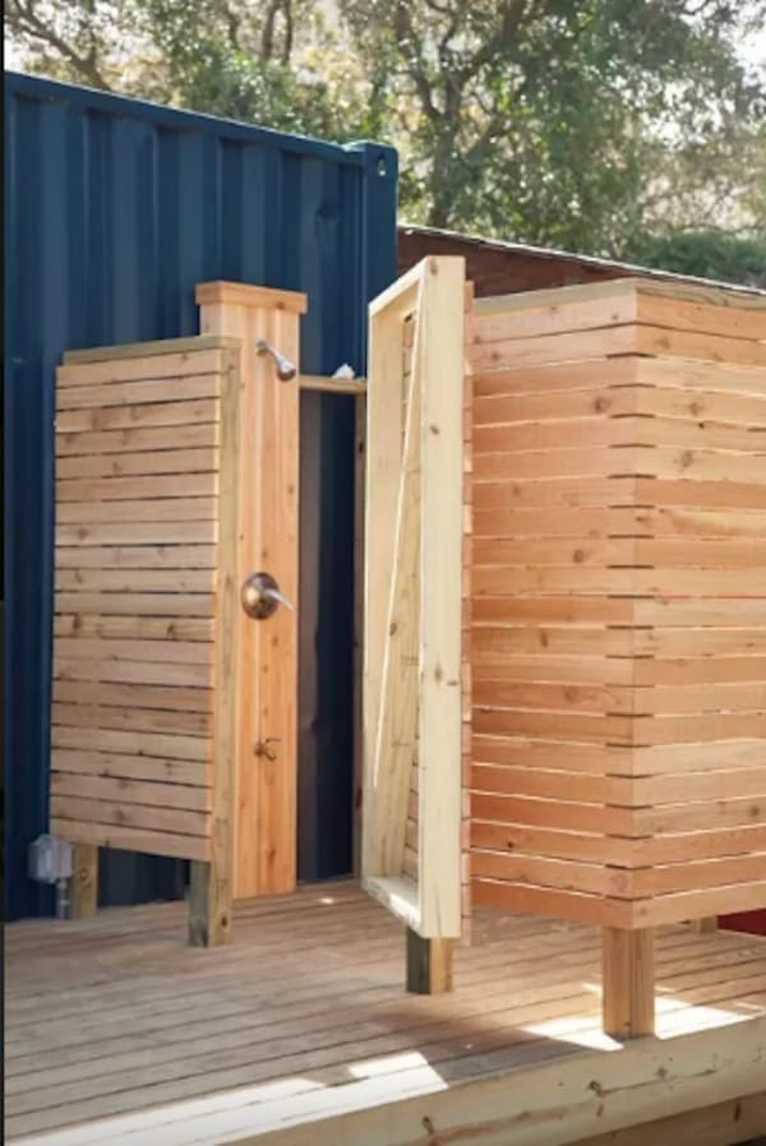 Nunca imaginaron que podria construir algo asi dentro de un contenedor 10