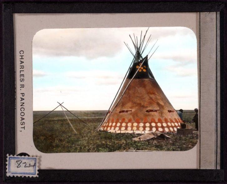 Sorprendentes fotografías antiguas muestran la belleza de los Tipis Nativos Americanos
