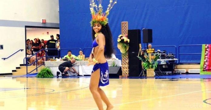 bailarina tahitiana banner