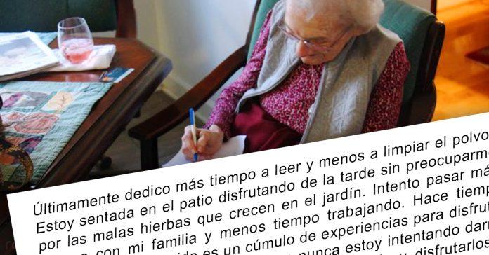 carta anciana a su mejor amiga banner