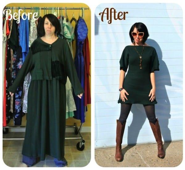 Esta manitas convierte vestidos sencillos en auténticas maravillas