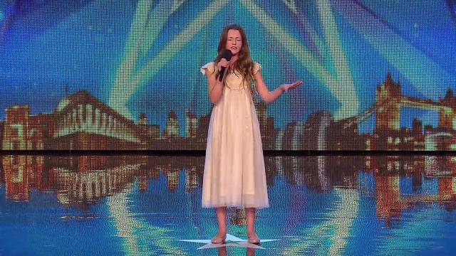 Esta niña de doce años deja alucinado al jurado de Britains Got Talent con su magnífica actuación