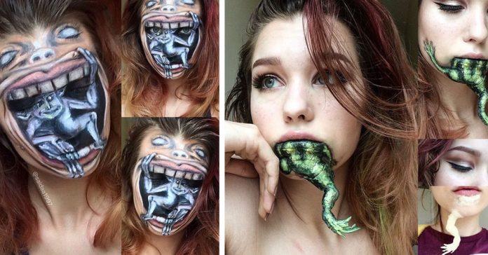 Esta artista maquilladora de 19 anos te quitara el aliento con su increible trabajo banner