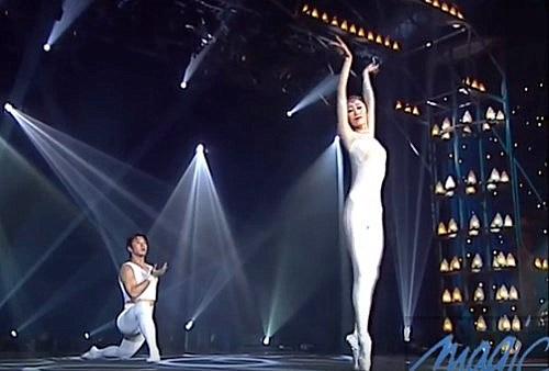 El impresionante arte del ballet acrobático