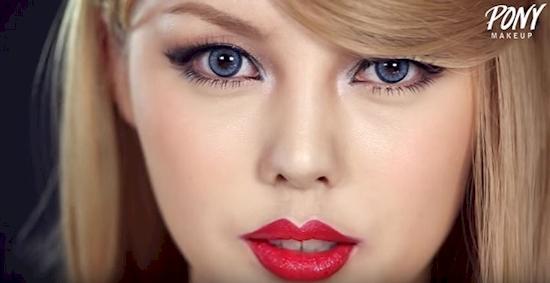 Pony: La chica que es capaz de transformarse en la famosa Taylor Swift sin nada de cirugía