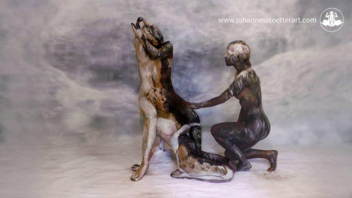 Una imagen de un lobo consigue hacerse con la atención de todo internet