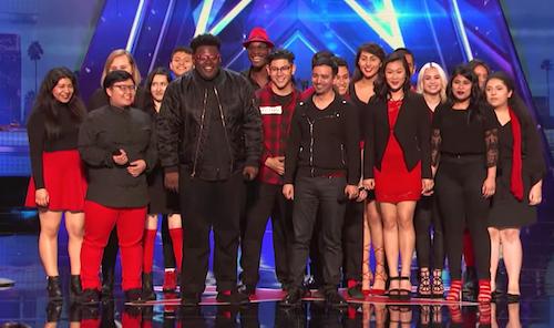 El Grupo Musicality lo da todo en la Gala de American's Got Talent