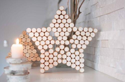 Crea esta fantástica pieza decorativa para tu hogar reutilizando corchos de botellas